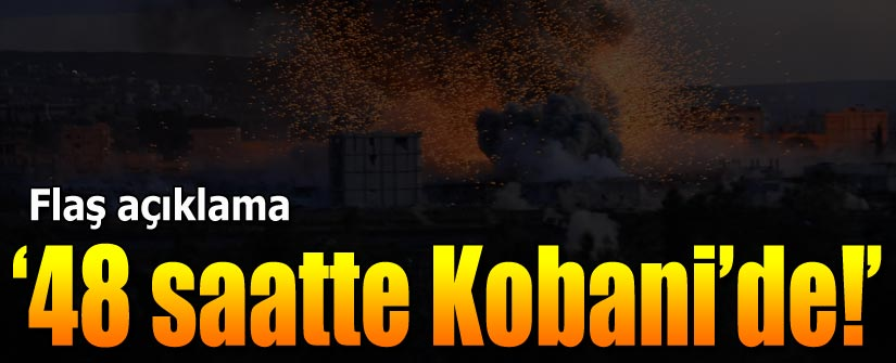 """Peşmerge 48 saatte Kobani'de"""