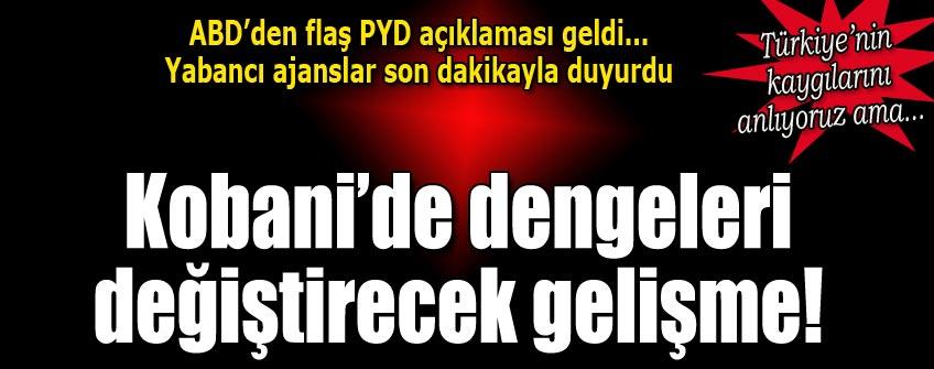 ABD'den PYD'ye silah