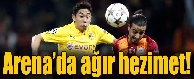Galatasaray Arena'da dağıldı!