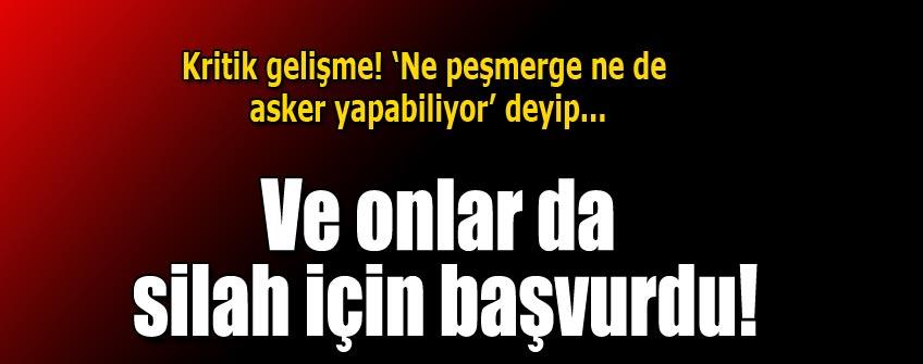 Türkmenleri de silahlandırın