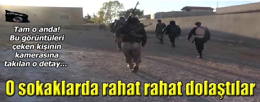Kobani sokaklarında IŞİD mililtanları