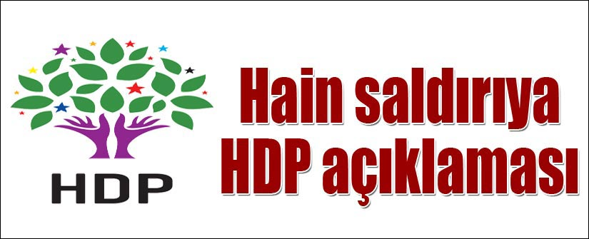 HDP: Üzgün ve kaygılıyız