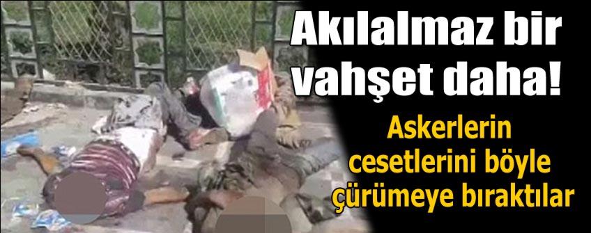 IŞİD kafaları kesip cesetleri sergiliyor