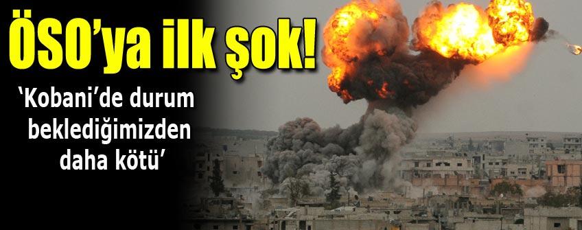 3 ÖSO askeri Kobani'ye varamadan vuruldu