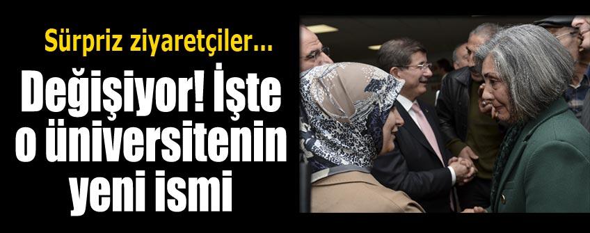 Davutoğlu'ndan Tunceli mesajları