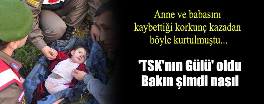 """""""TSK'nın Gülü"""" Elif Zeynep"""