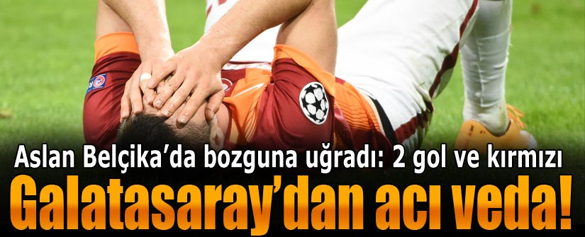 Anderlecht - Galatasaray: 2-0