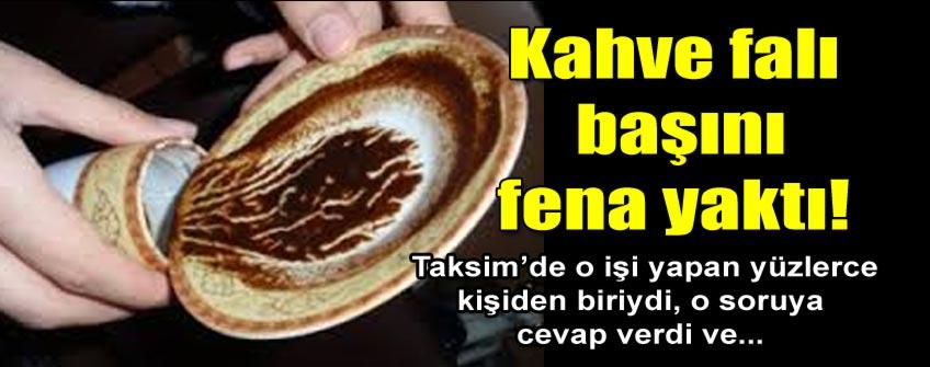 Kahve falına 89 yıllık tekke kanunundan dava