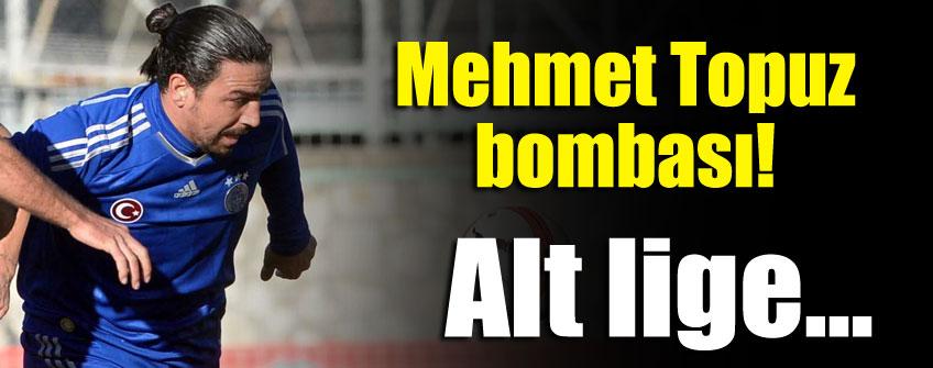 Mehmet Topuz 1. Lig'e gidiyor!