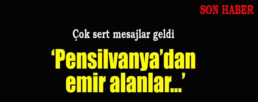 Davutoğlu'ndan Ankara mesajları