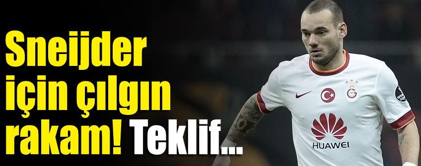 Sneijder için çılgın teklif!