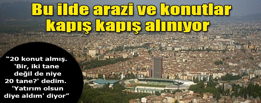 """Arap turistler Bursa'yı """"mesken"""" tuttu"""