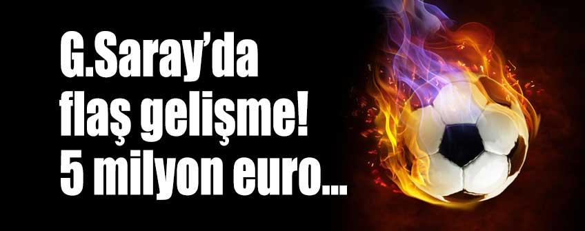 Galatasaray'da ödeme jesti!