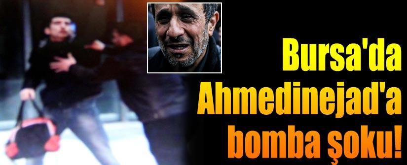 Ahmedinejad'a Bursa'da şok protesto