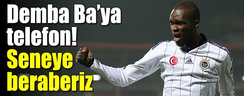 Moussa Sow'dan Ba'ya: Seneye beraberiz!
