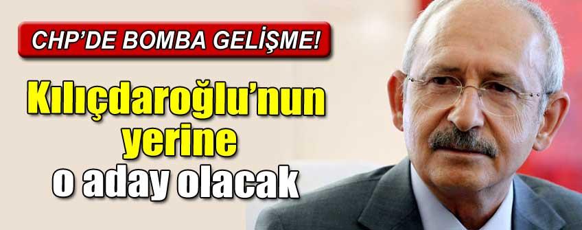 İşte CHP'de Kılıçdaroğlu'nun yerine aday olacak isim