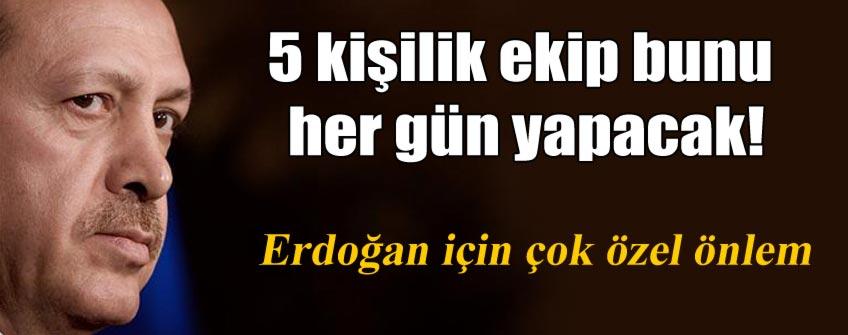 """Cumhurbaşkanlığı Sarayına """"zehir birimi"""" kuruldu"""