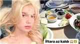 Aleyna Tilki'den iftar paylaşımı: Teşekkür ederim canım Allah'ım