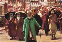 100 yıl önceki istanbul'dan sahneler