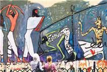 Şehirde graffiti festivali