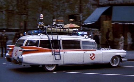 The Ecto-1 (1959 Cadillac Fleetwood)