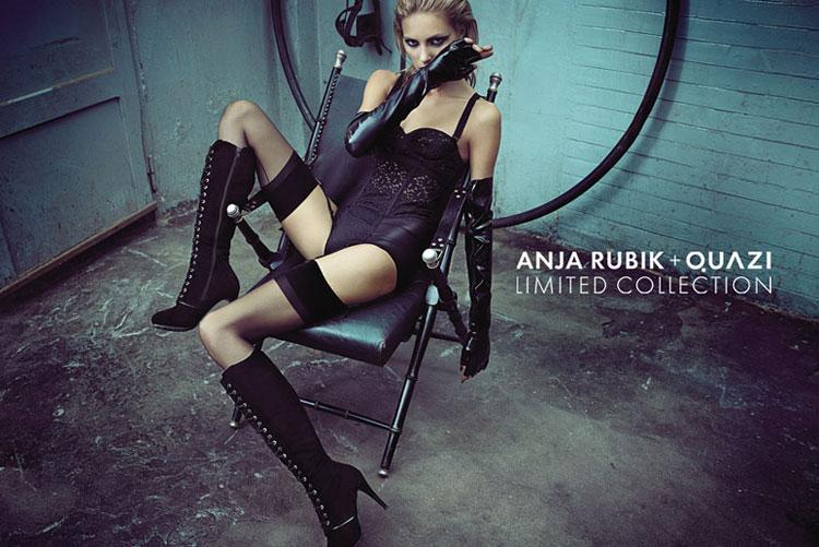 Hırçın bir Anja Rubik