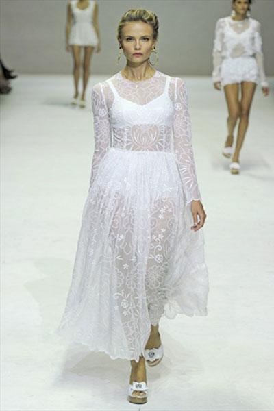 Catwalk: Dolce & Gabbana 2011 ilkbahar/yaz