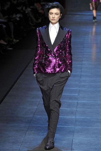 Catwalk: Dolce & Gabbana 2011-12 sonbahar/kış