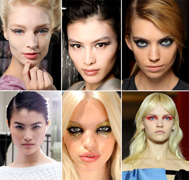 2012 İlkbahar yaz makyaj trendleri
