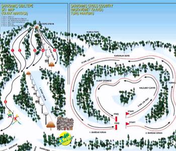 Ülkemizin en ünlü kayak merkezleri