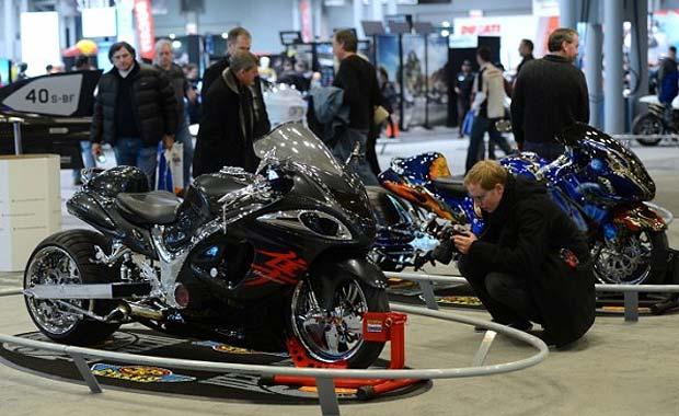 2014 model motosikletler New York'ta görücüye çıktı