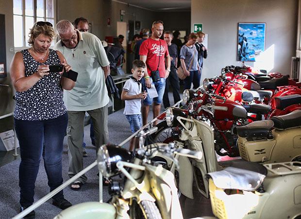 Tarihi fabrikada 10 Bin Motosiklet Tutkununu Ağırladı