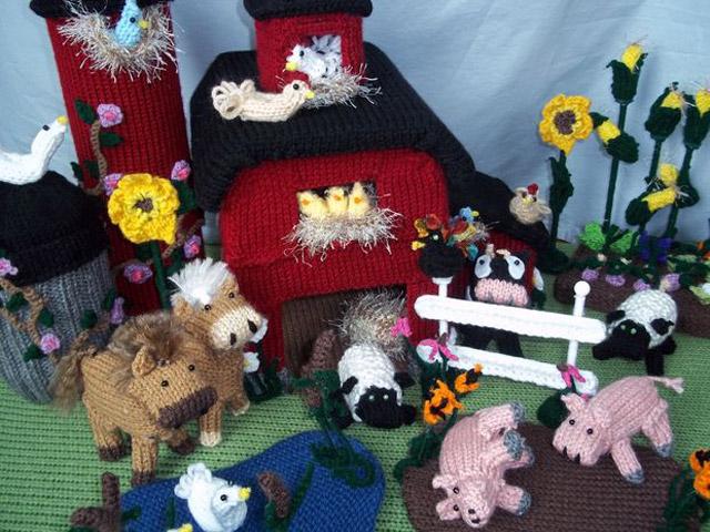 Kendin Yap: Örgüden çiftlik evi