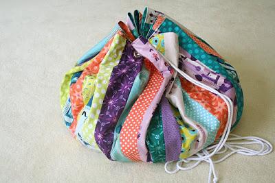 Oyuncak torbası nasıl yapılır?
