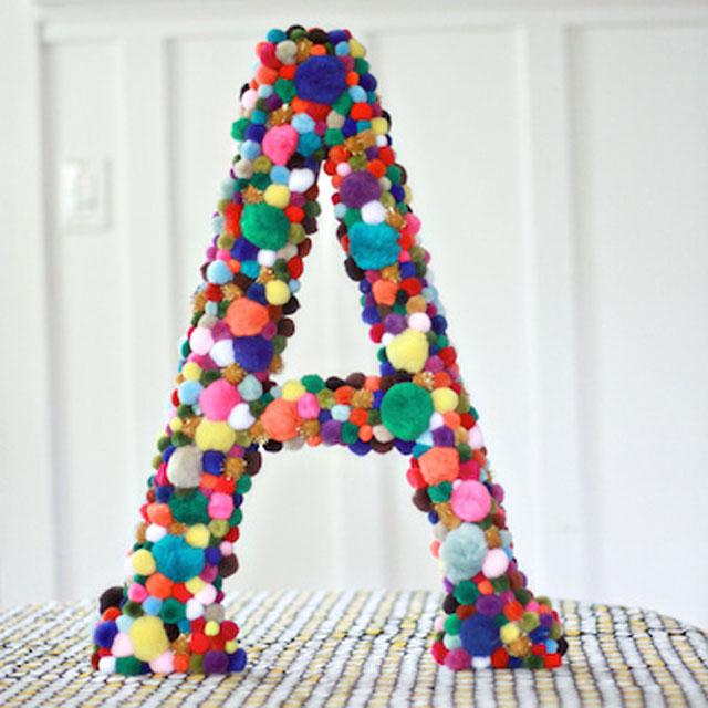 Объемные буквы своими руками из бумаги детям 64