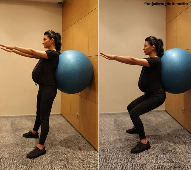 Hamilelikte bu egzersizler şart