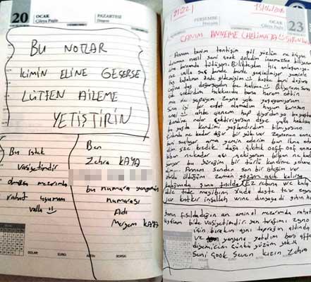 Terörist kızın mektubu ailesine ulaştırıldı!
