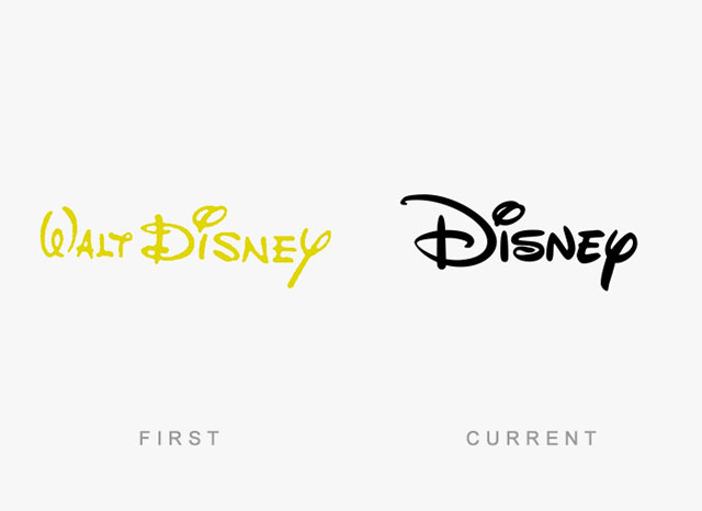 Ünlü markaların eski ve yeni logoları