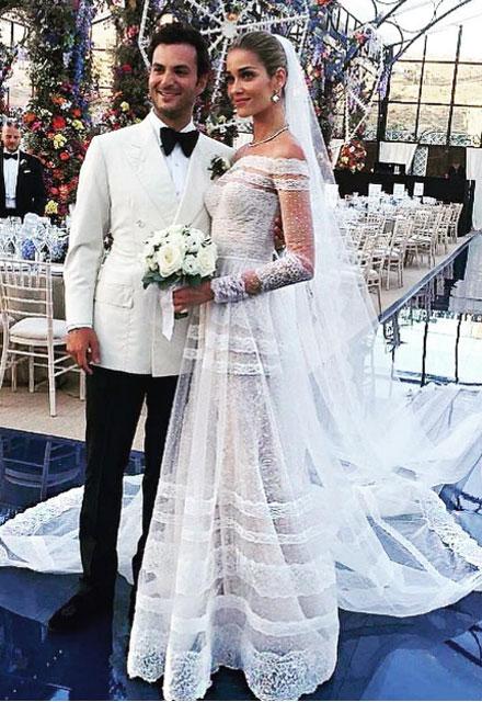 Ana Beatriz Barros'un görkemli düğünü