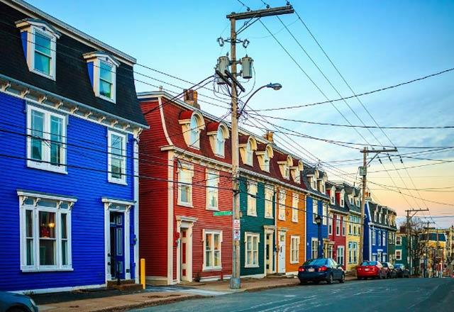 Rengarenk şehirler!