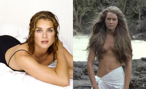 Brooke Shields.