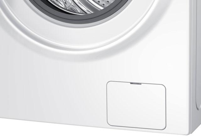 Çamaşır makinesinin alt köşesindeki kapak ne işe yarar?