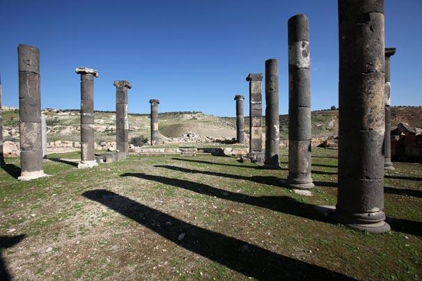 Ürdün'ün antik Helen şehri Abila