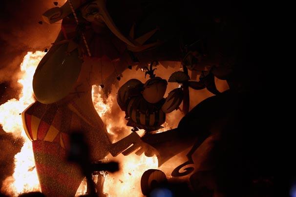 İspanya'daki Las Fallas Festivali sona erdi