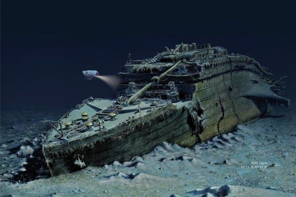 Titanic için denizaltı turları başlıyor