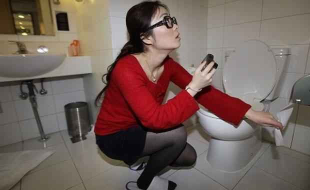 Çin'de akılalmaz uygulama