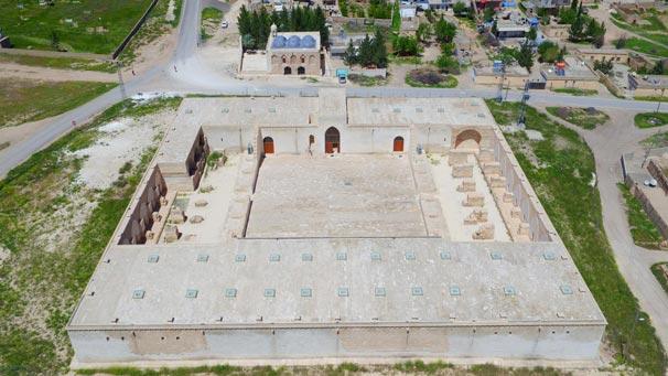 Çarmelik Kervansarayı turizm merkezi olacak
