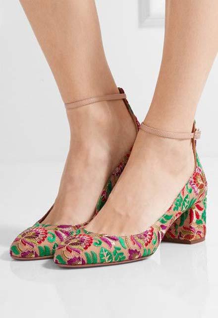 Nakış modası ayakkabılara da yansıdı