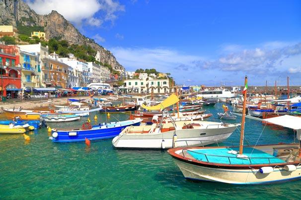 İtalya Capri Adası ve Sorrento