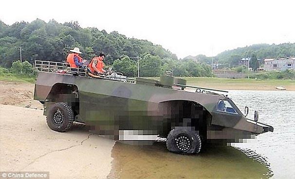 Çin dünyanın en hızlı amfibik zırhlı aracını üretecek